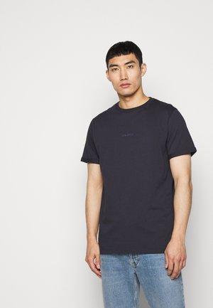 LENS - Print T-shirt - dark navy