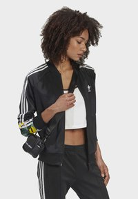 adidas Originals - RACK TOP - Sweatshirt - black - 4