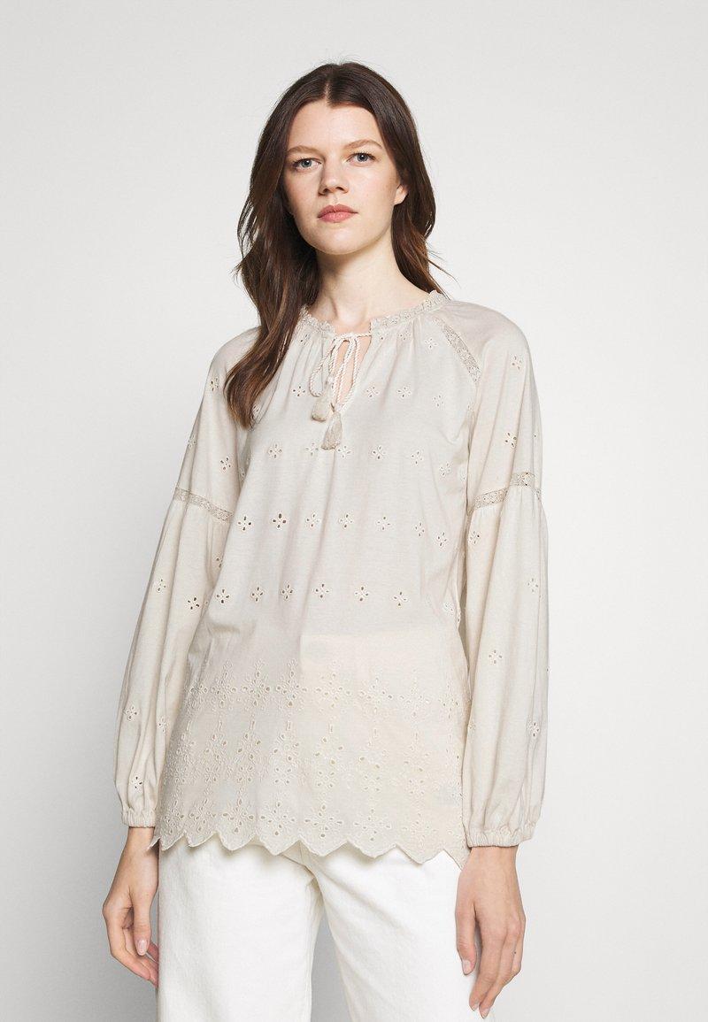 Lauren Ralph Lauren - UPTOWN - Long sleeved top - mascarpone cream