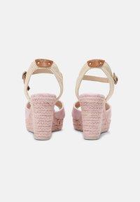Pepe Jeans - MAIDA ANY - Platform sandals - pink - 3