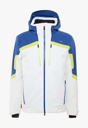 MEN SPEED READER JACKET - Ski jacket - white/southern blue