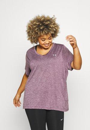 TECH TWIST  - Jednoduché triko - purple