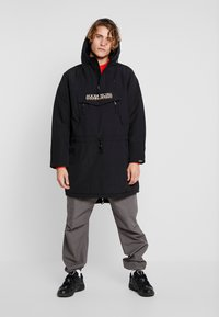 Napapijri The Tribe - RAINFOREST LONG - Parkaer - black - 1