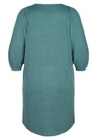 Zizzi - Jumper dress - sea pine mel - 6