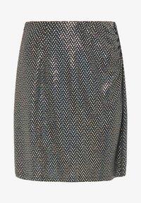 myMo at night - Mini skirt - holografisch schwarz - 4