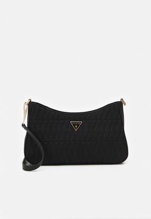 LAYLA TOP ZIP SHOULDER - Handbag - black