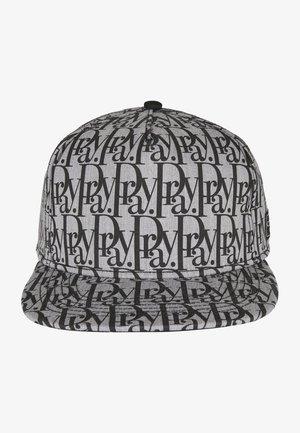 PRAYOR - Cap - heathergrey/black