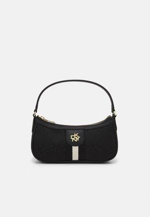CAROL BAGUETTE - Handbag - black/black