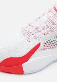 adidas Performance - D ROSE 773 2020 - Basketball shoes - footwear white/silver metallic/vivid red - 5