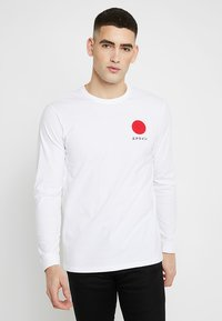 Edwin - JAPANESE SUN - Long sleeved top - white - 0