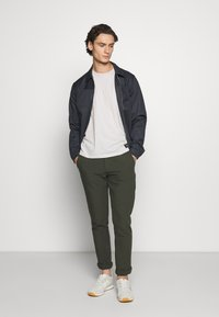 Jack & Jones PREMIUM - JPRBLAPHIL SWEAT - Summer jacket - navy blazer - 1