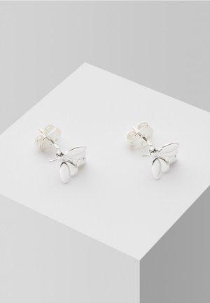 BEE  - Boucles d'oreilles - silver-coloured