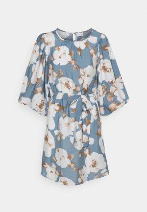 VISARON BELT DRESS  - Day dress - blue bell