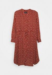 Selected Femme - SFDAMINA DRESS  - Day dress - dark red - 0