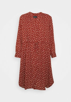 SFDAMINA DRESS  - Korte jurk - dark red