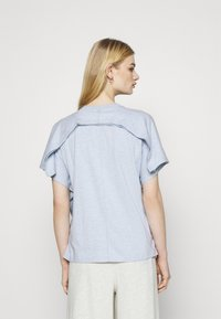 Nike Sportswear - EARTH DAY - Print T-shirt - light armory blue/heather white - 2
