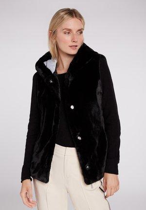 FELLWESTE  - Waistcoat - black