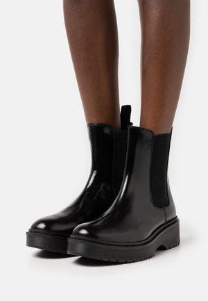 LENNA HI - Platform ankle boots - regular black