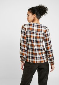 Whistles - CHECK PUFF SLEEVE SHIRT - Blouse - multi - 2