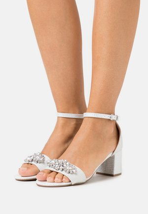SAVOY - Sandals - white shimmer