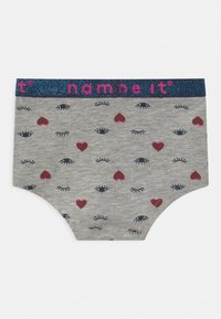 Name it - NMFHIPSTER 3 PACK - Briefs - grey melange - 1