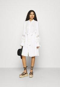 Fabienne Chapot - LEO DRESS - Shirt dress - cream white - 1