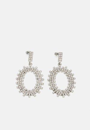 PCMALAK EARRINGS - Náušnice - silver colour/clear