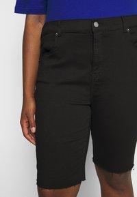 Dr.Denim Plus - LEXY - Denim shorts - black - 3