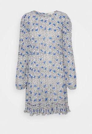 ROCKYA - Day dress - pensées blanc/parme