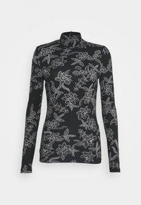 Vero Moda - VMFEABI - Langærmede T-shirts - black/filip - 4
