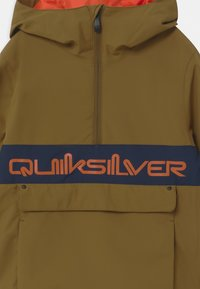 Quiksilver - STEEZE YOUTH UNISEX - Snowboard jacket - military olive - 2