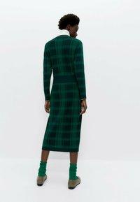 Uterqüe - Jumper dress - green - 1