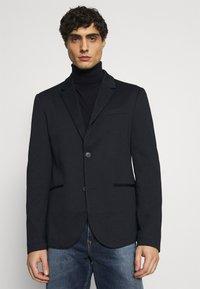 TOM TAILOR DENIM - Blazer jacket - sky captain blue - 0