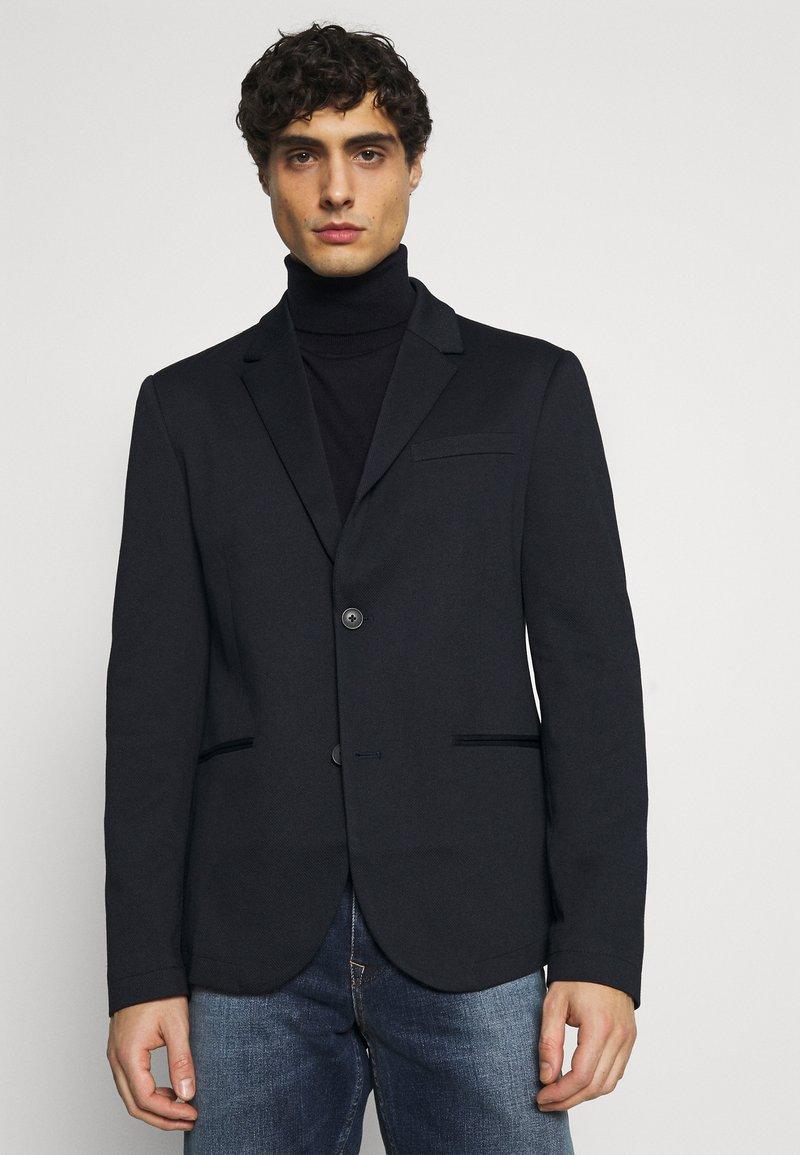 TOM TAILOR DENIM - Blazer jacket - sky captain blue