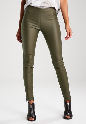 BELUS KATY - Leggings - Trousers - army green
