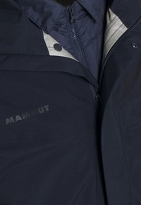 Mammut - ROSEG 3 IN 1 HOODED MEN - Hardshell jacket - marine/marine - 8