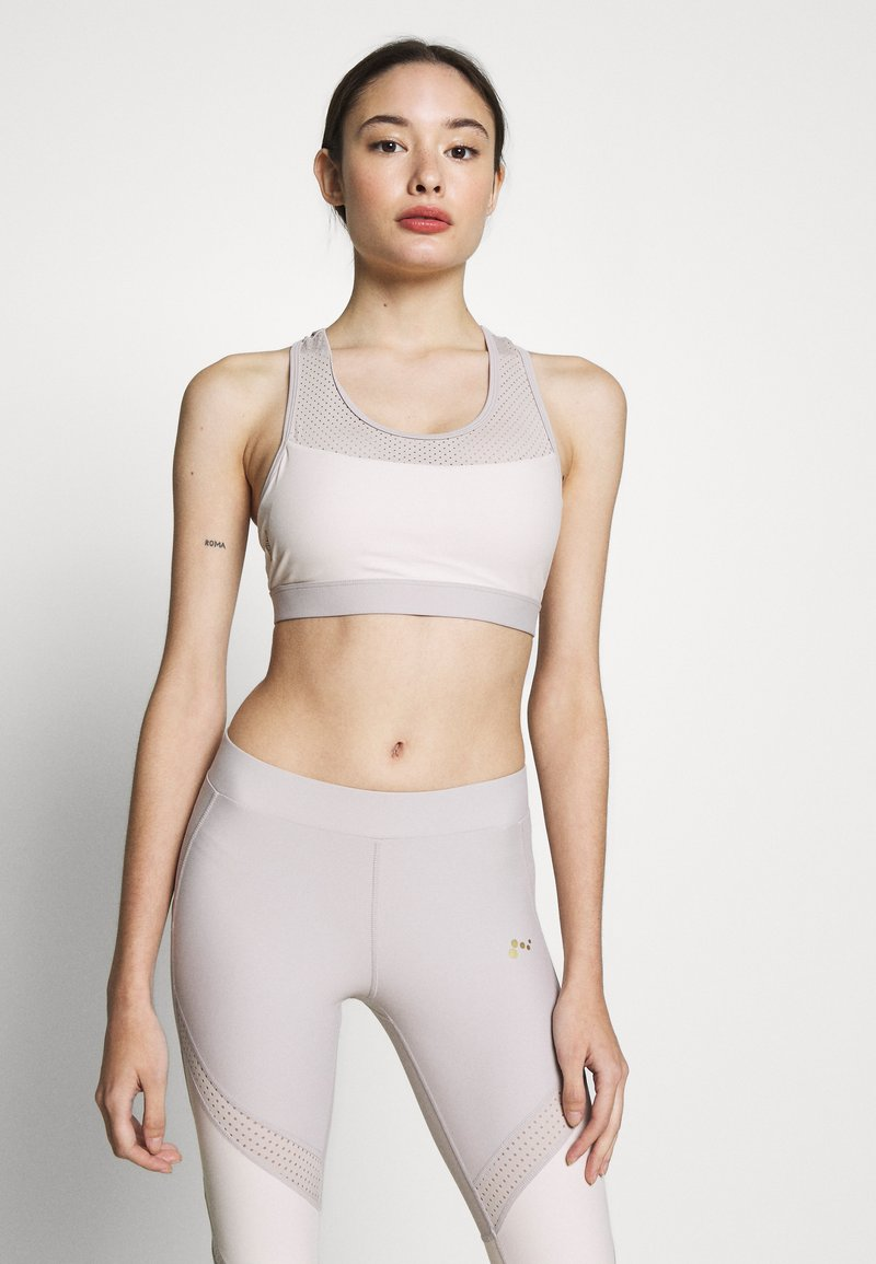 ONLY PLAY Petite - ONPJACINTE SPORTS BRA - Toppi - ashes of roses/lilac ash