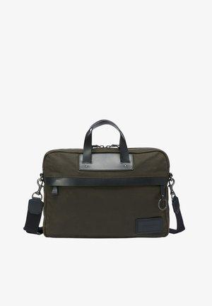 Laptop bag - olive green