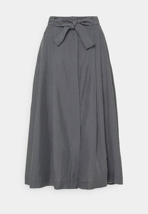 ALVINA SKIRT - Áčková sukně - metal