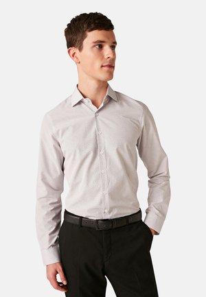 LANGÄRMELIGES POPELINE  - Formal shirt - bordeaux