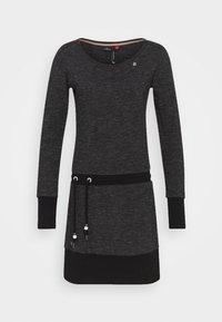 Ragwear - ALEXA - Day dress - black - 4