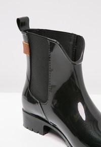 Tommy Hilfiger - OXLEY - Wellies - black/winter cognac - 6