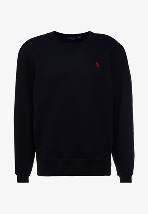 LONG SLEEVE - Mikina - polo black