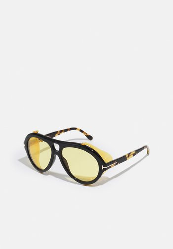 UNISEX - Sunglasses - shiny black/brown