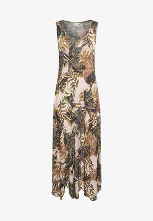 BASTILLA  - Jersey dress - dull gold jungle