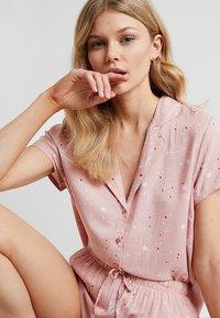 Even&Odd - SET - Pyjama set - white/rose - 3