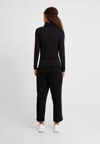 New Look Petite - ROLL NECK 2 PACK - Long sleeved top - black/chocolate - 3