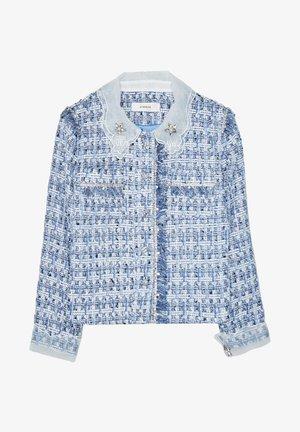 MIT ABNEHMBAREM - Light jacket - blue