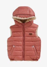 Töastie - ECOREVERSIBLE SHERPA GILET - Waistcoat - pink - 0