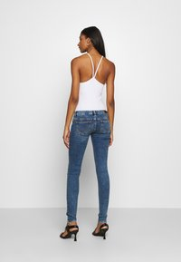 ONLY - ONLCORAL LIFE  - Jeans Skinny Fit - dark blue denim - 2